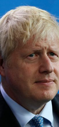 British prime minister, Boris Johnson